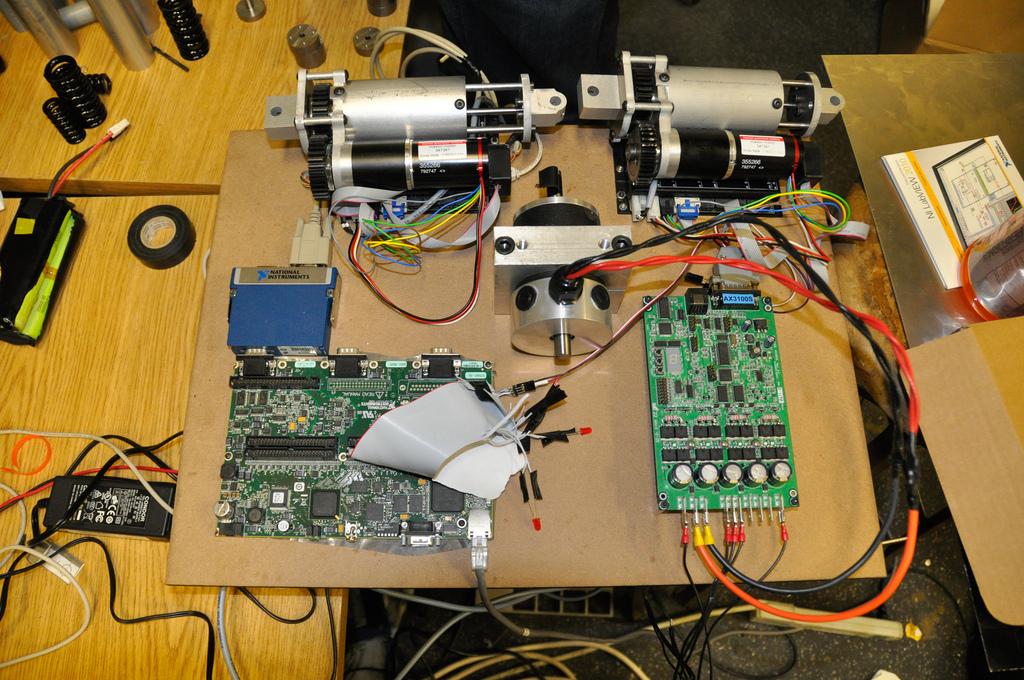 Maxon Motors And Labview Sbrio Sabertooth Robotics Mqp Blog